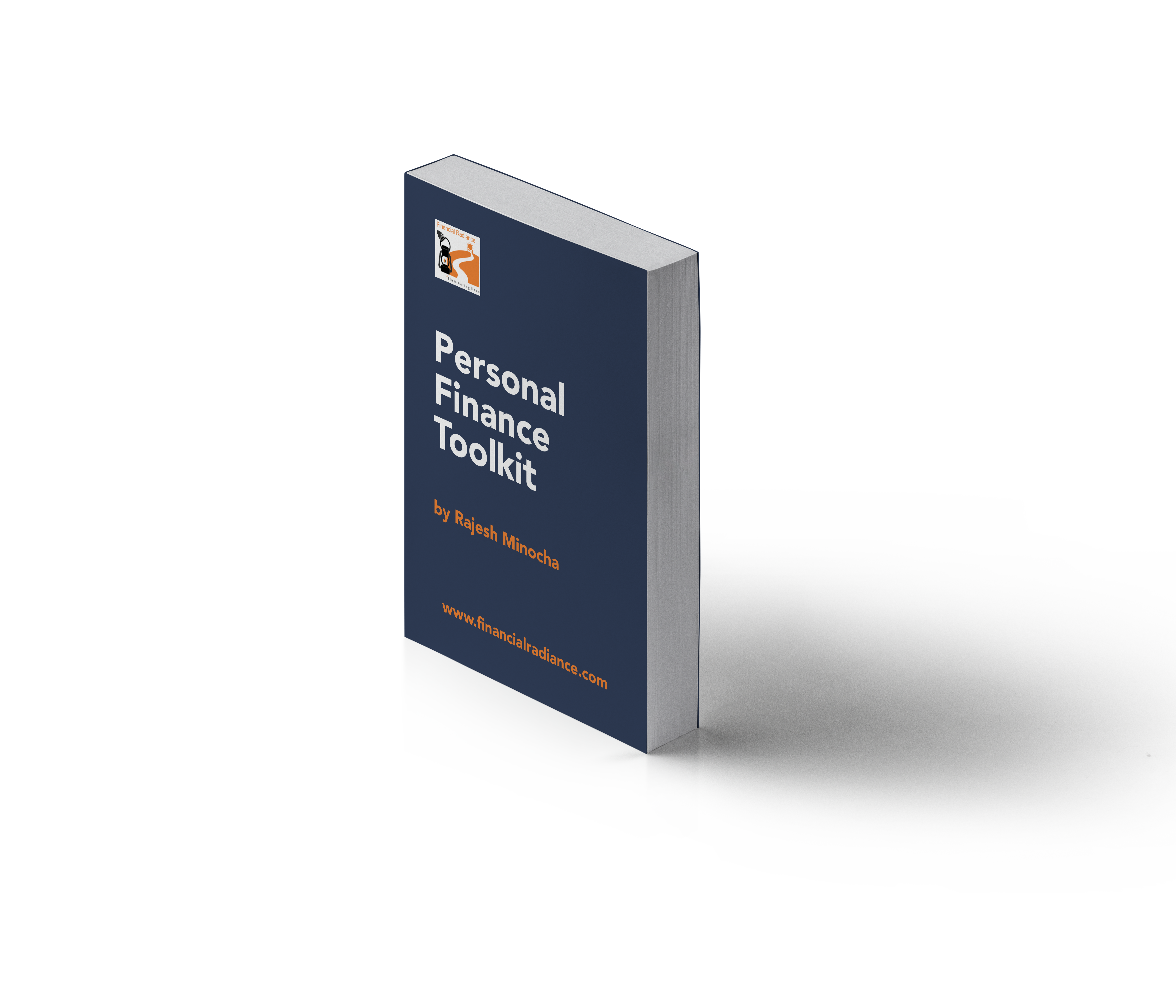 free personal finance book cover blue