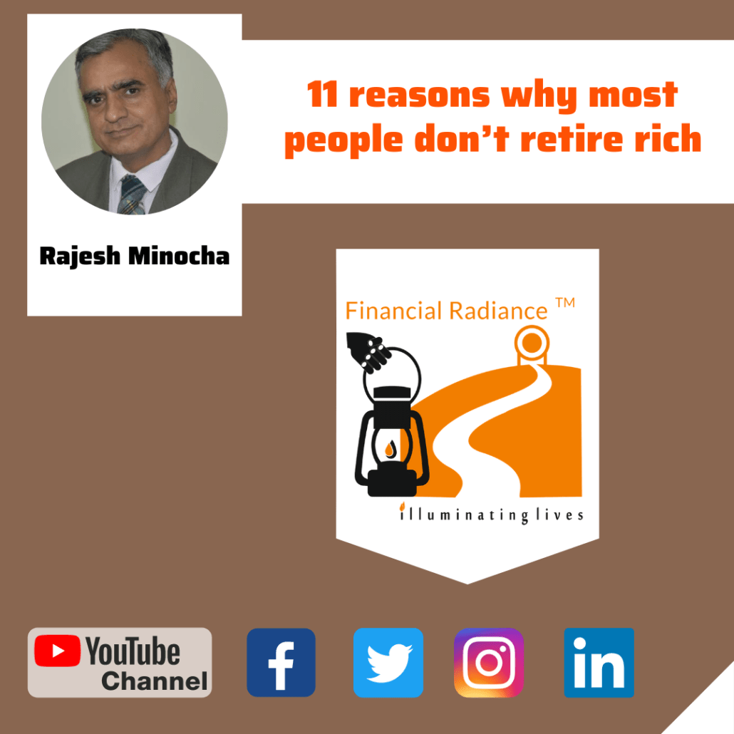 11 reasons why most people dont retire rich